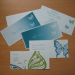 Butterfly Vector Stationery