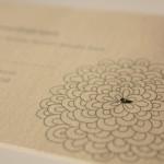 Flower Vector Wedding Invitation