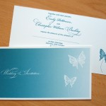 Wedding Invitation - Butterfly Vector