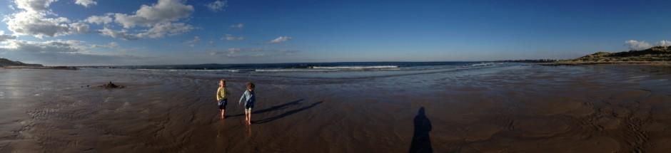 Seahouses Beach view
