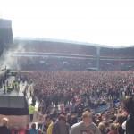 North East live stadium view