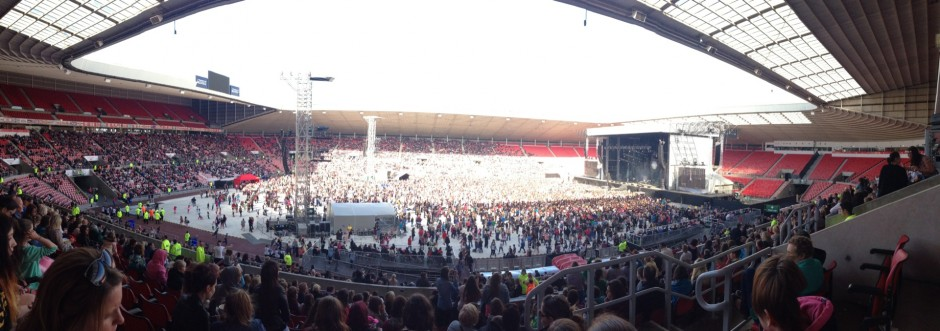 North East live stage view